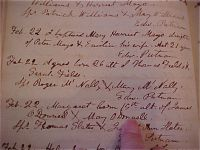 Baptismal Record of Agnes Field