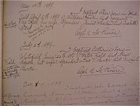 Baptismal Record of Catherine Field