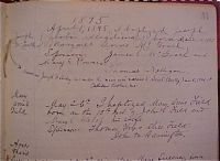 Baptismal Record of Mary Ann Field
