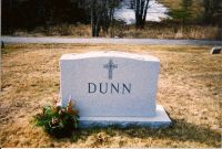 Dunn Family Headstone (Front)