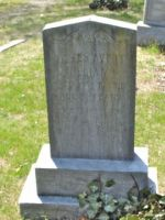 Headstone, James Avery Williams and Mary Talley Williams Collins