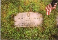 Headstone of Avery Henry Williams